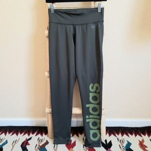 Adidas Climate Olive Green Leggings size S